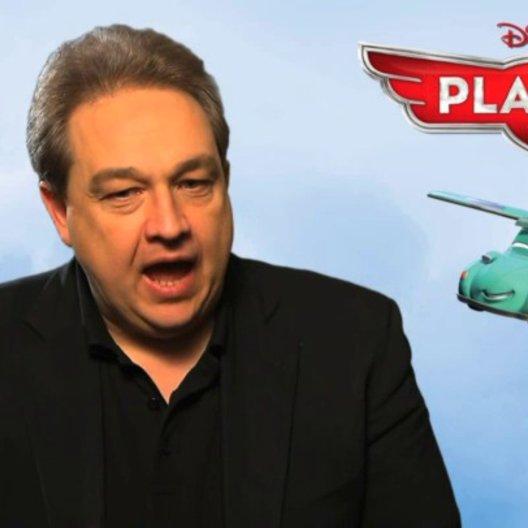 Oliver Kalkofe - deutsche Stimme Franz Fliegenhosen - über seine Stimmen in der Originialversion des Films - Interview