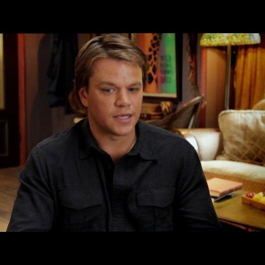 Matt Damon - Benjamin Mee - über Thomas Haden Church als Duncan Mee - OV-Interview