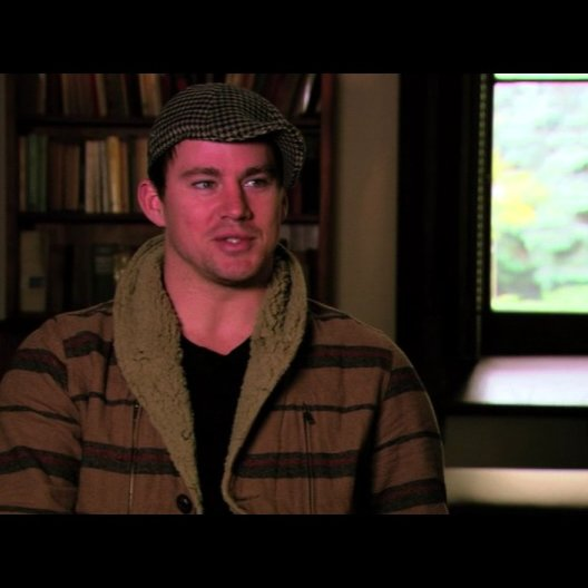 Channing Tatum ueber die Story - OV-Interview
