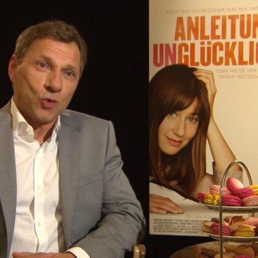 Richy Müller - Hans Luboschinski - über die Zusammenarbeit mit Johanna Wokalek - Interview