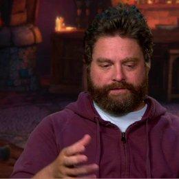 ZACH GALIFIANAKIS - Originalstimme Humpty Alexander Dumpty - über die Animation - OV-Interview