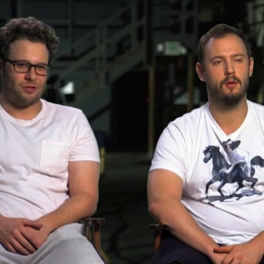 Seth Rogen und Evan Goldberg über die verschiedenen Elemente des Films - OV-Interview