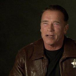 Arnold Schwarzenegger (Ray Owens) über den Regisseur - OV-Interview