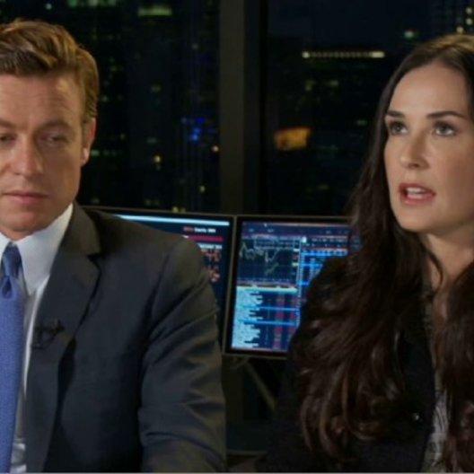 Simon Baker (Jared Cohen) und Demi Moore (Sarah Robertson) über das Drehbuch - OV-Interview