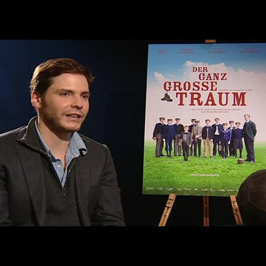 Daniel Brühl (Konrad Koch) über die Arbeit mit den Jugendlichen - Interview
