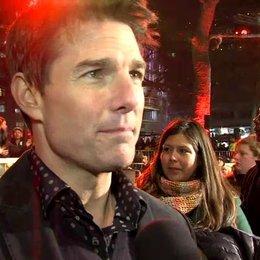 Weltpremiere - Tom Cruise - Jack Reacher über die Stunts - OV-Interview