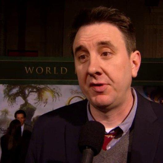 US Premiere - Grant Curtis (Produzent) über die Dreharbeiten - OV-Interview