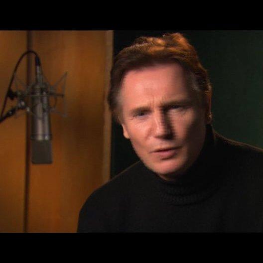 Liam Neeson über das Ankommen von Lucy und Edmund in Narnia - OV-Interview