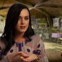 Katy Perry -Schlumpfine (USA)- über die Synchronarbeit - OV-Interview