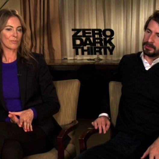 Kathryn Bigelow und Mark Boal Kamera A über die Perspektive des Films - OV-Interview
