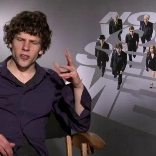 Jesse Eisenberg - J Daniel Atlas - worauf sich die Zuschauer freuen können - OV-Interview