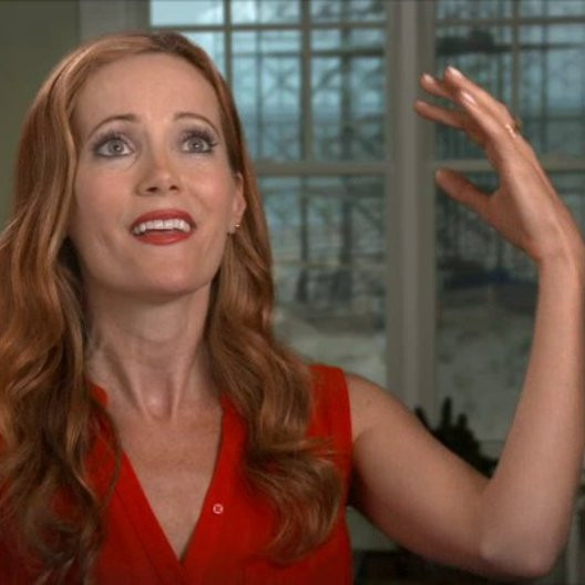 Leslie Mann - Kate King - über die Film-Sets - OV-Interview