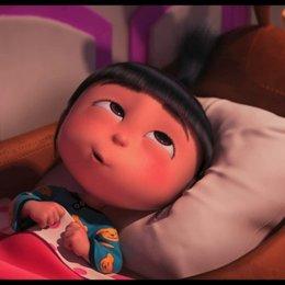 Gru bringt die Mädchen ins Bett - Szene