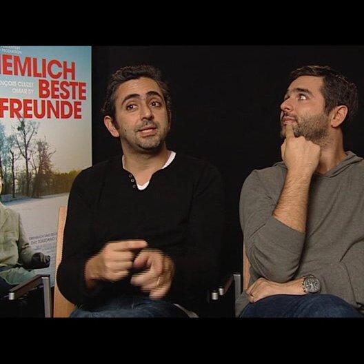 Eric Toledano und Olivier Nacache (Regisseur) über das Zusammenspiel zweier so unterschiedlicher Schauspieler - OV-Interview