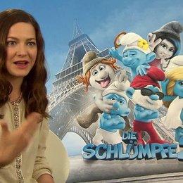 Hannah Herzsprung -Schlumpfine- über die Originalstimmen - Interview