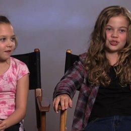 Megan Charpentier über Javier Botet als Mama - OV-Interview