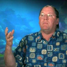 John Lasseter - Executive Director - darüber wie die Szenen durch 3D verstärkt werden - OV-Interview