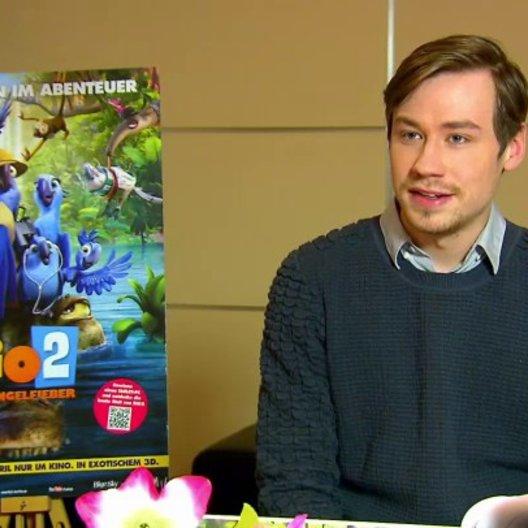David Kross - Blu - über die Story - Interview