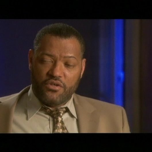Interview mit Laurence Fishburne (Cole Williams) - OV-Interview