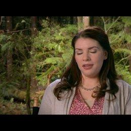 Stephenie Meyer (Autorin) - über die Auswirkungen der Schwangerschaft auf die Charaktere - OV-Interview