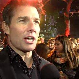 Weltpremiere - Tom Cruise - Jack Reacher über Jack und Helen - OV-Interview