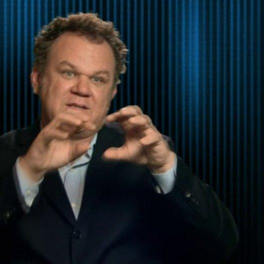 John C Reilly - Ralph - über die verschiedenen Welten im Film - OV-Interview
