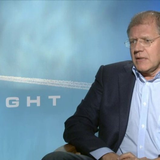 Robert Zemeckis - Regisseur - über Denzel Washington als Whip - OV-Interview