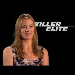 Yvonne Strahovski (Anne) über die Arbeit mit Jason Statham und den anderen Schauspielern - Interview