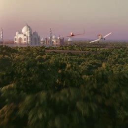 Dusty fliegt zum Tadsch Mahal - Szene
