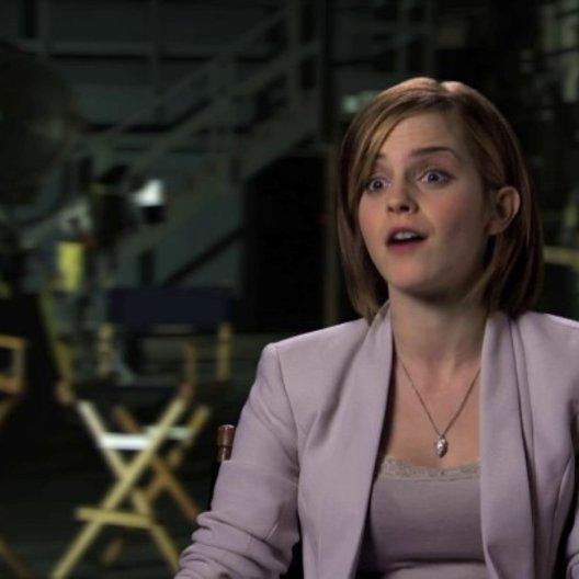 Emma Watson über die Dreharbeiten - OV-Interview