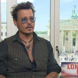 Johnny Depp - Tonto - über seine Einstellung zum Alter und Zukunftspläne - OV-Interview