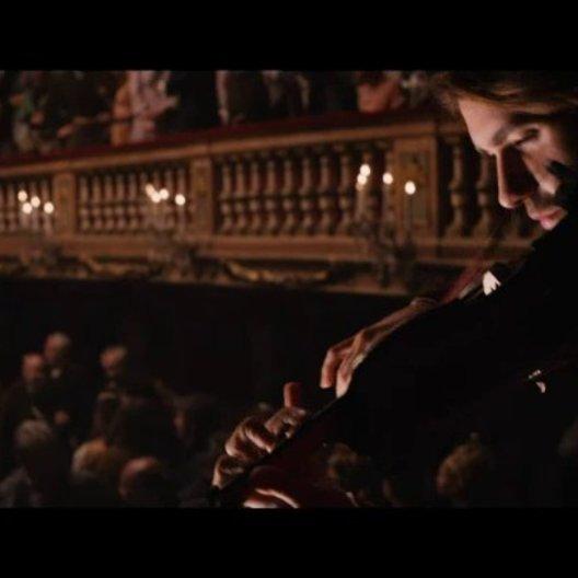 Paganini spielt im Mailänder Theater - Szene