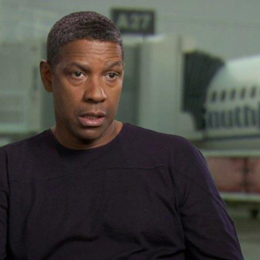 Denzel Washington - Whip Whitaker - über das Kopfüber hängen - OV-Interview