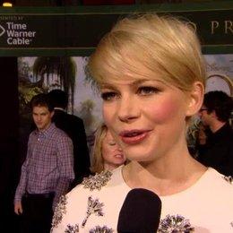 US Premiere - Michelle Williams (Annie und Glinda) über Sam Raimi - OV-Interview
