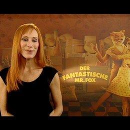 Andrea Sawatzki über ihre Gründe die Mrs Fox zu sprechen - OV-Interview