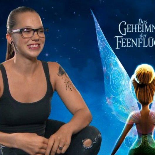 Stefanie Heinzmann - Spike - über die Synchronarbeiten - Interview