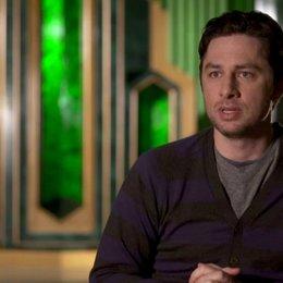 Zach Braff (Frank und Finley) über die Bandbreite des Films - OV-Interview