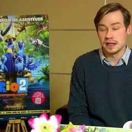 David Kross - Blu - über die Synchronaufnahmen - Interview