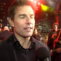 Weltpremiere - Tom Cruise - Jack Reacher über seine Rolle Jack - OV-Interview