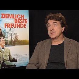 Francois Cluzet (Philippe) über die Herausforderung einen Behinderten zu spielen - OV-Interview