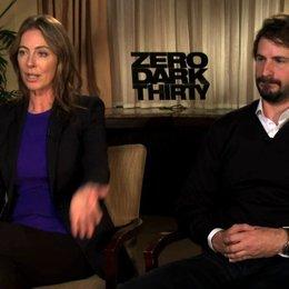 Kathryn Bigelow und Mark Boal Kamera A über das Ende der Dreharbeiten - OV-Interview