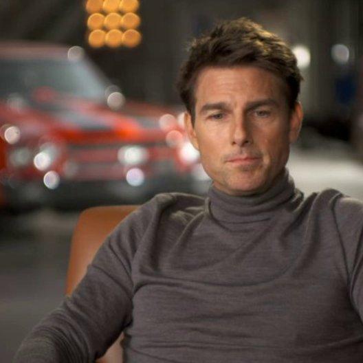 Tom Cruise - Jack Reacher über die Arbeit mit Rosamund Pike - OV-Interview