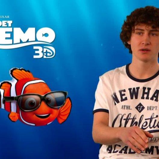 Domenic Redl - Synchronstimme Nemo - über die Stimme von Nemo - Interview