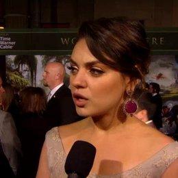 US Premiere - Mila Kunis (Theodora) über ihre Rolle - OV-Interview