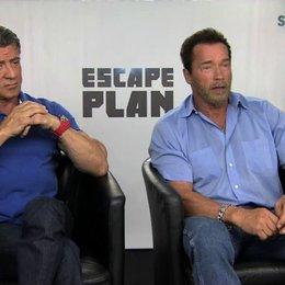 Stallone und Schwarzenegger über den richtigen Film für ein gemeinsames Projekt - OV-Interview