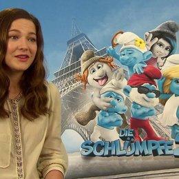 Hannah Herzsprung -Schlumpfine- über ihre Rolle - Interview