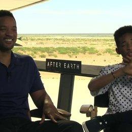 Will Smith und Jaden Smith über die Fähigkeit zu ghosten - OV-Interview