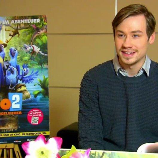 David Kross - Blu - über Fussball - Interview