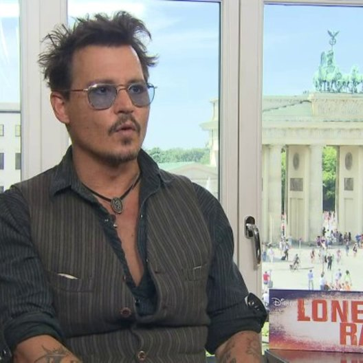 Johnny Depp - Tonto - über seine Rolle Tonto - OV-Interview