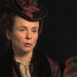 Emily Watson über Gräfin Lydia - OV-Interview
